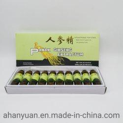 Productos saludables de Ginseng Panax Extracto de Ginseng/Ginseng Extracto de Ginkgo Biloba/Ginseng Royal Jalea líquido oral