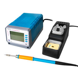 60W 110V 220V EU US プラグスマート LCD デジタル クイック加熱エレメント電気はんだ付け鉄(鉛フリー)を表示します はんだチップ