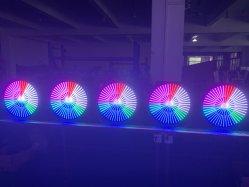판매를 위한 건강한 액티브한 무한한 회오리바람 바 디스코 섬광 LED 화소 배경 벽 빛