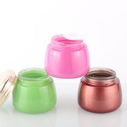 Hochwertige Glas Kosmetik Creme Container Flasche