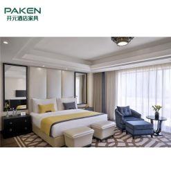 Meubles en gros adaptés aux besoins du client de chambre à coucher d'hôtel réglés pour l'hôtel 5 étoiles