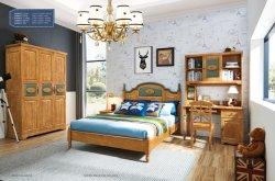 Mobilier en bois massif pour les enfants Les enfants Adolescents ensembles de chambre à coucher Meubles mobilier de maison