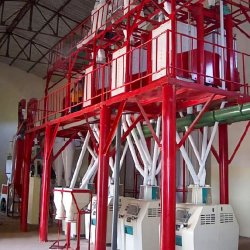 50t مصنع طحن الذرة الطري مصنع الطحن للطحن الذرة