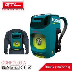 Mochila de batería inalámbrico arandela de 36 V Limpiador de alta presión para la limpieza de coches/Cercas/patio/jardín