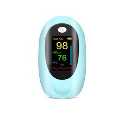 شاشة TFT المحمولة منزل رقمي استخدام الأكسجين بالدم النبضي الطبي مقياس التأكسج لجهاز مراقبة التشبع بطرف الإصبع