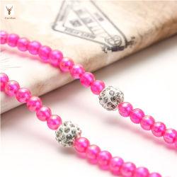 Écouteurs à la mode Collier de perles Bijoux Perles les écouteurs
