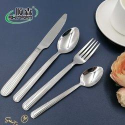24 Pièce De la coutellerie 18 10 la vaisselle en acier inoxydable
