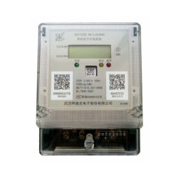 Einphasig-intelligentes drahtloses elektrisches Messinstrument mit PLC/GPRS/Lora/Nb-Iot