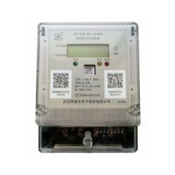 De Slimme Draadloze Elektrische Meter van de enige Fase met PLC/GPRS/Lorawan