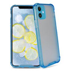 iPhone 7을%s 내진성 반대로 하락 보호 반투명 뒤표지 8 11 Se 2020 아크릴 셀룰라 전화 상자 덮개