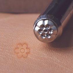 Ювелирные изделия из кожи Инструменты Инструменты для прогулочных судов металлические символ руки штамп R017 символ цветов для пробивания отверстий