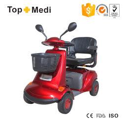 2020 Venta caliente Euro-Type discapacitados al aire libre grandes Wheelbtire fiable Mobility Scooter eléctrico con silla para minusválidos
