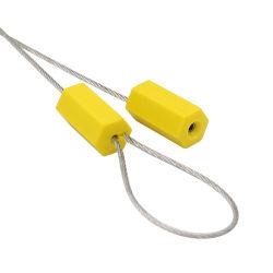 일련 번호를 가진 강철 케이블 철사 콘테이너 문지방 봉합