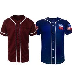 Maglia da baseball all'ingrosso personalizzata Stripe