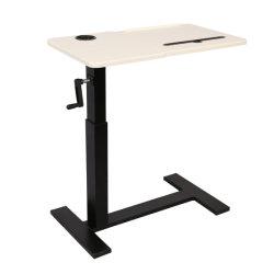 Запатентованная вручную болт тяги подвижной подъемный стол со стороны с 30° изогнутой деревянной стола (A0202)