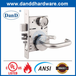 Grado de ANSI1 seguro modernos de acero inoxidable de UL de Hardware de fuego tipo de cerradura Lockset Apartamento Entrada Puerta Balseta bloquear