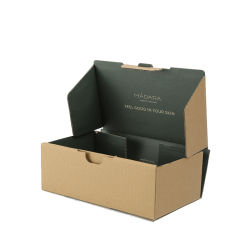 Personalizar colorido fuerte Mailer Caja de papel cartón corrugado Packaging