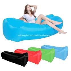 Plegado rápido al aire libre Camping Mat impermeable bolsa de semillas cama silla de playa aire perezoso sofá inflable ligero Saco de dormir tumbona