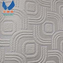 Impermeable y Water-Proofing Fibra de vidrio, papel tapiz para lugares públicos, Decoración de interiores