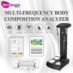 Teste de gordura corporal de impedância Analisador de gordura WiFi com impressora