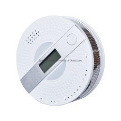 LDA 2 in 1 가정 보안 화재 경보 연기 및 일산화탄소 Co 가스 경보