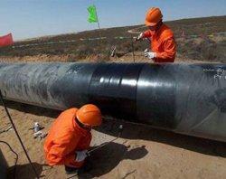 2lpe 3lpe 가스 오일 워터 강 파이프 파이프라인 필드 조인트 코팅 단열 PE 폴리에틸렌 접착 열수축 슬리브