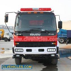 Isuzu 화재 싸움 장비 12-16cbm 거품 탱크 화재 싸움 트럭