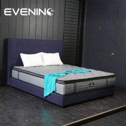 호텔과 도매업자를 위한 소형 봄 유액 거품 2인용 침대 매트리스