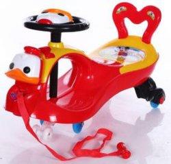 سيارة أرجوحة أطفال جميلة وبلاستيكية للأطفال ركوب السيارة KS-25