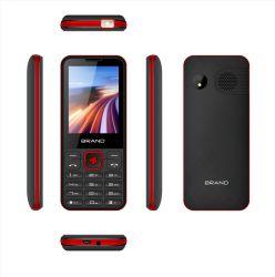 Tela de 2,8 pol mais barato mais recente recurso Barra Básica 2g Celular duplo SIM Telefone móvel ativa