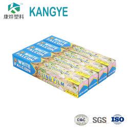 Embalagens de alimentos PE rolo de películas de plástico se apegam Wrap para alimentos