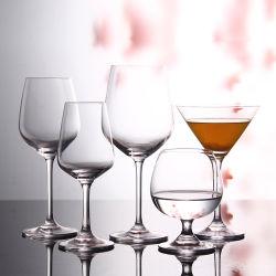 De hoge Kop van Champagne van de Drinkbeker van Stemware van het Glas van de Wijn van het Strand van het Kristal van het Eind 9oz (GB082075)