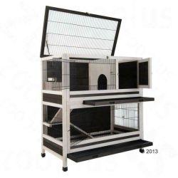 كلها فى كاج واحد كبير للرفاهية الخشبية الصغيرة بيت طي الكلاب الأرنب