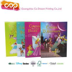 Die kundenspezifischen Druck-Kinder, die Geschichte färben, meldet Papierpappkind-Vorstand-Buch-Drucken an