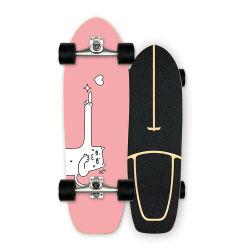 En Stock Street Cruiser longboard cubierta fabricante patinetas de Surf para niños y adultos