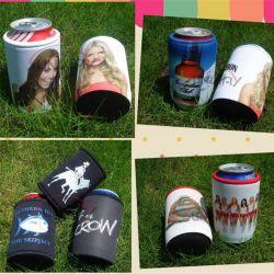 Neopreno personalizados aislado de la cerveza bebida Botella de bebida puede Koozie grueso (BC0075)