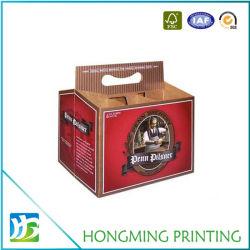 Custom печатной бумаги картона держатель для чашки кофе