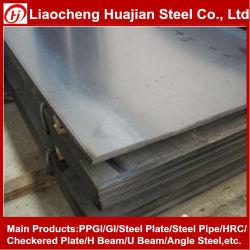 A36 Structure d'acier laminés à chaud en acier doux de la plaque de la bobine haute résistance faiblement allié de feuille pour la construction