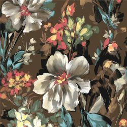 Impression numérique textile Tissu personnalisé Silk (KQC-0030)