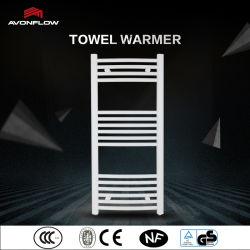 Avonflow 백색 구부려진 전기 난방 방열기 목욕탕 수건 선반