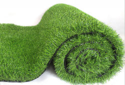 Custom PE Flame-Retardant l'aménagement paysager de football le tapis de gazon Gazon artificiel de jardin