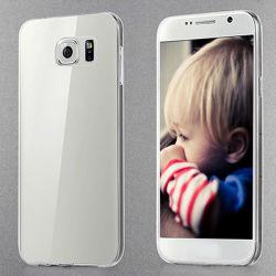 Ultra dünner dünner Kristall - freie weiche TPU Deckel-Fall-Haut für iPhone 6/7/S8 löschen