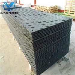 De duurzame 3000*1000*40mm HDPE UHMWPE Plastic Mat van de Weg van de Bouw
