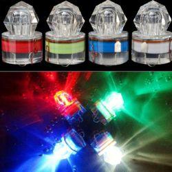 深い低下水中LEDの捕獲物の魚のダイヤモンド釣ライト