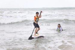 Caída de PVC inflable cosido en el Stand Up Paddle Board suave