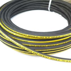 SAE 100 R1 Slang van de Stookolie van het Neopreen van de Hoge druk De Flexibele Hydraulische Rubber in de V.A.E