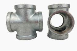 Commerce de gros compteurs d'eau croix de fer malléable de l'Union Raccords de tuyaux en acier galvanisé