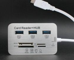 La función Multi 7en1 Smartphone Combo Card Reader+HUB USB para iPad de Apple/serie