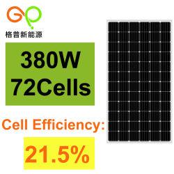 comitato solare monocristallino 380W con il certificato di TUV/Ce