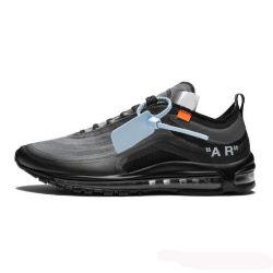 Ursprüngliche Marke weg 97 Og Frauenmens-dem Entwerfer von der laufenden Schuh-97s bereift weiße elementare Menta grüne graue im Freien Althtic Form-Sport-Schuhe